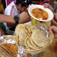 Photo taken at Gorditas Doña Julia by Josana S. on 8/19/2012