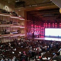 Photo taken at Alice Tully Hall at Lincoln Center by Amy L. on 2/11/2012