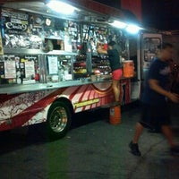 Photo taken at Fukuburger Truck by Warner P. on 7/28/2012