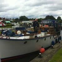 Photo taken at Sunbury lock by Martin D. on 6/24/2012