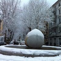 Photo taken at Piazza Garibaldi by Camilla C. on 2/16/2012
