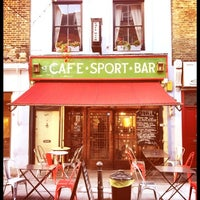 Photo taken at Cafe Kick by Jon T. on 7/13/2012