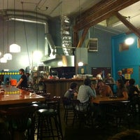 Photo taken at Hair of the Dog Brewery & Tasting Room by Kristi K. on 7/21/2012