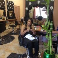 Photo taken at Bella Vita Salon by Alicia R. on 4/20/2012