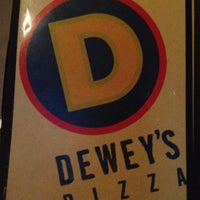 Photo taken at Dewey's Pizza by Peter B. on 8/18/2012