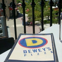 Photo taken at Dewey's Pizza by Sean W. on 6/26/2012