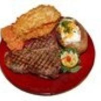 Photo taken at Riverfront Steakhouse by Becki L. on 2/13/2012