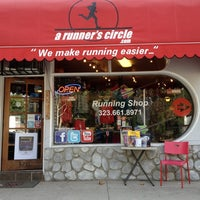 Photo taken at A Runner's Circle by Ray A. on 9/10/2012