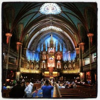 Photo taken at Notre-Dame Basilica of Montréal by Herbert P. on 9/3/2012