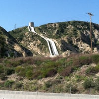 Photo taken at Los Angeles Aqueduct by Holiday Inn Express Hotel & Suites H. on 5/8/2012