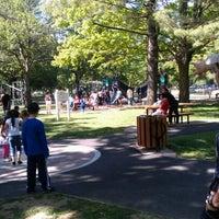 Photo taken at Eisenhower Park Field 2 by Aylin B. on 5/20/2012
