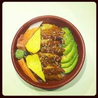 Photo taken at Osaka Sushi Express & Fresh Fruit Smoothies by Emmy F. on 7/31/2012