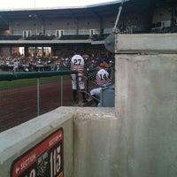 Photo taken at Bowling Green Ballpark by Logan F. on 7/4/2012