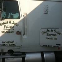 Photo taken at Sands And Sons Pallets by Dillon S. on 5/18/2012