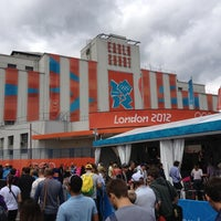 Photo taken at Earls Court Exhibition Centre by Marcelo O. on 8/8/2012