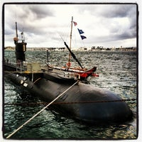 Photo taken at USS Dolphin by christian v. on 4/18/2012