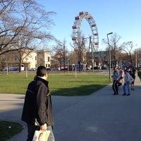 Photo taken at Praterstern by Irakli N. on 3/25/2012