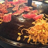 Photo taken at Honey Pig Korean BBQ by Ian R. on 3/31/2012