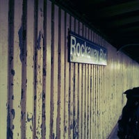 Photo taken at MTA Subway - Rockaway Blvd (A) by Kreative M. on 3/22/2012