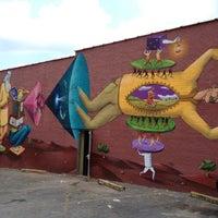 Photo taken at East Atlanta Village by Chad E. on 6/22/2012