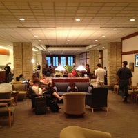 Photo taken at Delta Sky Club by Sascha S. on 7/21/2012