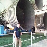 Photo taken at NASA JSC Bldg. 30A by Mia C. on 2/29/2012