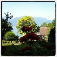 Photo taken at Hostellerie Bon Rivage by Simona N. on 6/30/2012