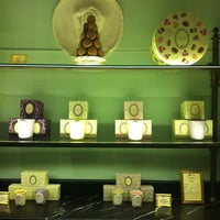 Photo taken at Ladurée by Hande E. on 3/31/2012