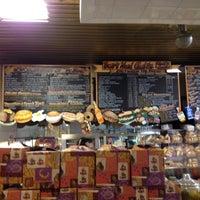 Photo taken at Binghamton Bagel Cafe by Jake F. on 5/20/2012