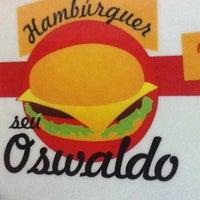Photo taken at Hamburguer do Seu Oswaldo by Juliana C. on 6/15/2012