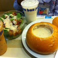 Photo taken at Au Bon Pain by first f. on 8/16/2012