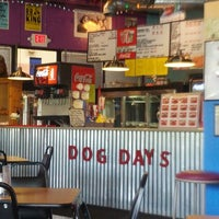 Photo taken at Dog Days Chicago Hotdogs by Teri P. on 8/19/2012