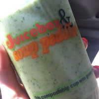 Photo taken at Soup Peddler Real Food & Juice Bar by Whitney J. on 6/7/2012