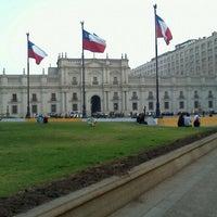 Photo taken at Plaza de la Constitución by Paulina P. on 4/4/2012