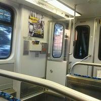 Photo taken at Pearl/Arts District Station (DART Rail) by John U. on 8/9/2012