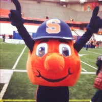 Photo taken at Carrier Dome by Stephanie V. on 4/23/2012