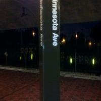 Photo taken at Minnesota Avenue Metro Station by Christian F. on 6/13/2012