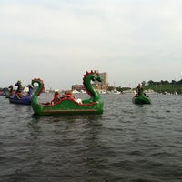 Photo taken at Inner Harbor Paddle Boat Dock by @followfrannie B. on 8/14/2012