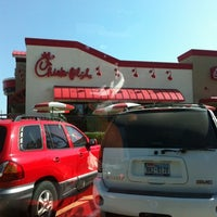 Photo taken at Chick-fil-A Broadway Crossing by Tanya R. on 7/30/2012