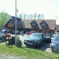 Photo taken at Rożen-Skansen by Tomasz M. on 5/1/2012