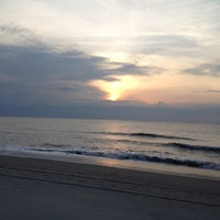 Photo taken at Tybee Curve Beach by Sue B. on 6/4/2012