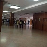 Photo taken at Colegio Jesus Maria El Salvador by David M. on 5/4/2012