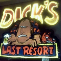 Photo taken at Dick's Last Resort by Aaron S. on 4/5/2012