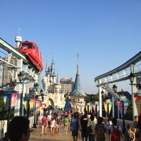 Photo taken at Lotte World Adventure by Sayaka on 8/4/2012