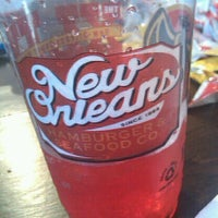 Photo taken at New Orleans Hamburger And Seafood Co. by James R. on 2/19/2012