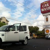Photo taken at Mister Car Wash & Express Lube by Carla V. on 3/16/2012
