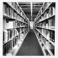 Photo taken at Brandel Library - North Park University by Jon B. on 5/3/2012