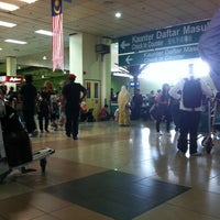 Photo taken at International Departures Hall by syazwani a. on 8/16/2012