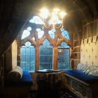 Photo taken at Langley Castle Hotel by Andres V. on 9/1/2012