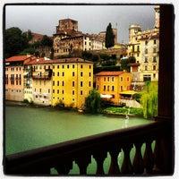 Photo taken at Ponte degli Alpini by Claudio Mago on 8/28/2012